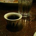 Turkish coffee with desert