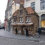 The only 'real' chocolate shop in Bruges. Not to be missed.