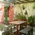 charming little garden