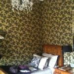 The blue room. 2 beds. Lovely decorated.
