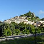 veduta del borgo di Campiglia D'Orcia