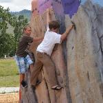 Climb Through Time Geological Climbing Wall Exhibit