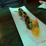 Black Dragon roll - yum!!