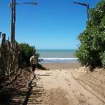 Road to the Necochea Beach by Parque Lillo