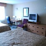 Unser geräumiges Zimmer
