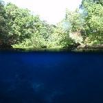 Blue hole, Unterwasserbild