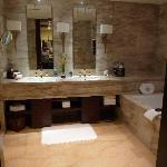 a view of the bath-room of our room