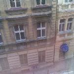View of steet outside window