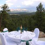 Pikes Peak Paradise - Wedding View