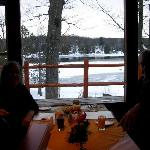 12 Mile Lake, from the dining room