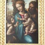 ソドマの「聖家族と幼子洗礼者ヨハネ」