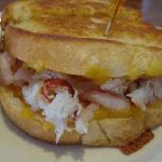 Crab and Shrimp Sandwich