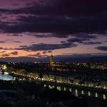 Florence in winter season
