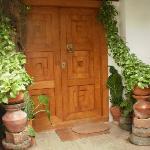 The entry door