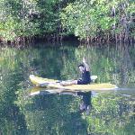Klongjao on the kayak