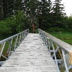 Verbindungsbrücke der Gebäude