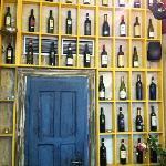 funny bottle display