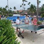 Ping Pong à la piscine