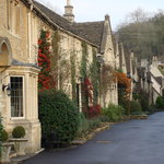 Charming street in Cotswold village - quick sidetrip Ray knew we'd love