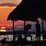 sun set at el remate