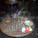 le bar après le passage des Espagnols 1