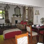 Part of the dining room