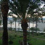 La vista desde el balcon