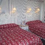 La chambre très propre