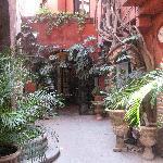 The beautiful entrance to La Case de Elvia