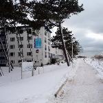 Hotelansicht am Strandweg