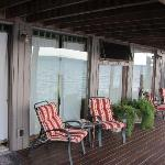 Back deck seats