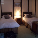 Single beds in room 3