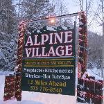 All Alpine Village studios are at Cottam's Lodge.