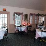 The Inn's dining room