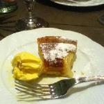 This was my delicious pear tart.
