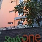 The front view of StudioOne