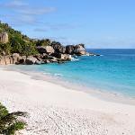 Private beach SIsters Islands
