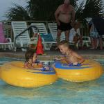 Lazy river ride a must!