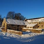 Spa Buildings in Snow!