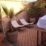 terraza del riad
