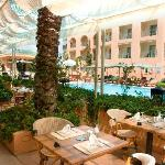 Restaurant piscine seville