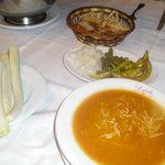 Cocido en Malacatin. La sopa.