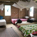 Sleeping area of Family Cabin