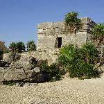 One of the Mayan ruins on the property