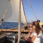 celebrating Xmas on a dhow