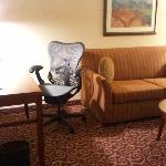 King Bedroom Evolution Suite - Work Desk and Sofa Bed