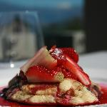Breakfast is always delicious - our Ricotta & Raspberry Hotcakes