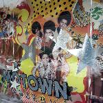 Front window to Motown museum.