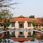 Main building & pool