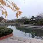 Strolling along canal Yanagawa